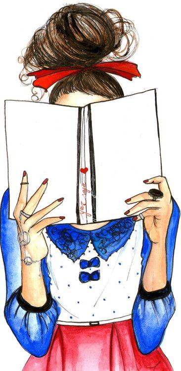 Bookworm babe. @Alyssa Moffitt YOU