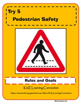 Use this safety checklist as the basis for a mini lesson on pedestrian safety.  Ask students to complete the safety checklist individually. Then ask them to share and discuss their responses with the class. Conclude the lesson by asking them to write an additional safety rule.