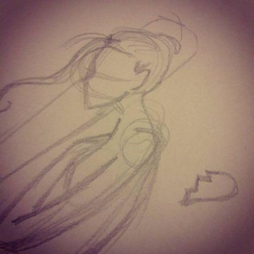 Sketchando…. #sketch #scarabocchi #scarabocchio #schizzo #disegno #drawing #drawings #draw #ragazza #ragazzatriste #cuorespezzato #heart #brokenheart #girl #sad #love #amore #matita #pencil