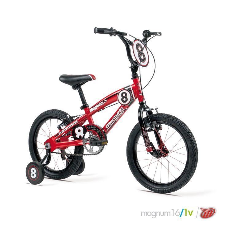 Bicicletas Mercurio Modelo Magnum16 Bicicleta para niños BMX/Street #bikes #bicicletas #bicicletasmercurio https://www.facebook.com/BicicletasMercurio