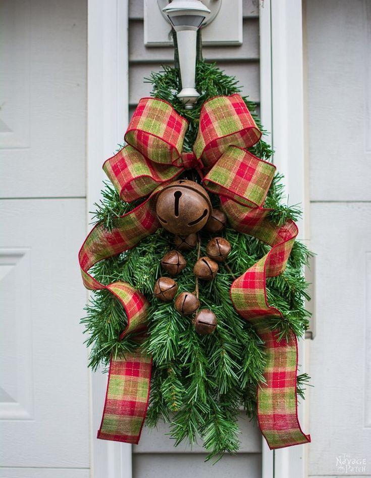 Faux Christmas Tree Repurposed Three Ways Crafts Pinterest