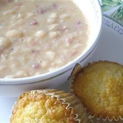 Basic Ham and Bean Soup Recipe - Allrecipes.com Soup Recipe