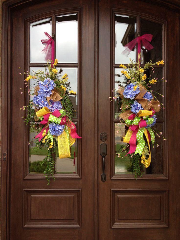 Carrot Wreaths For Double Doors