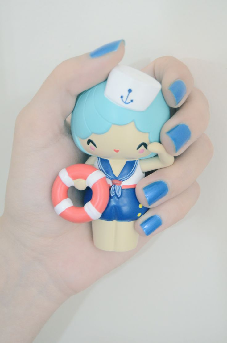 """A girl's hardest question is """"what to wear today?"""" and sometimes a momiji can be an inspiration to us girls :) I was having some trouble with my nail polish and on that day, Marina made the final decision :)"""