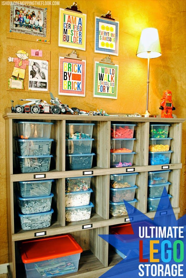 40 awesome lego storage ideas awesome lego lego storage and storage ideas - Boys Room Lego Ideas