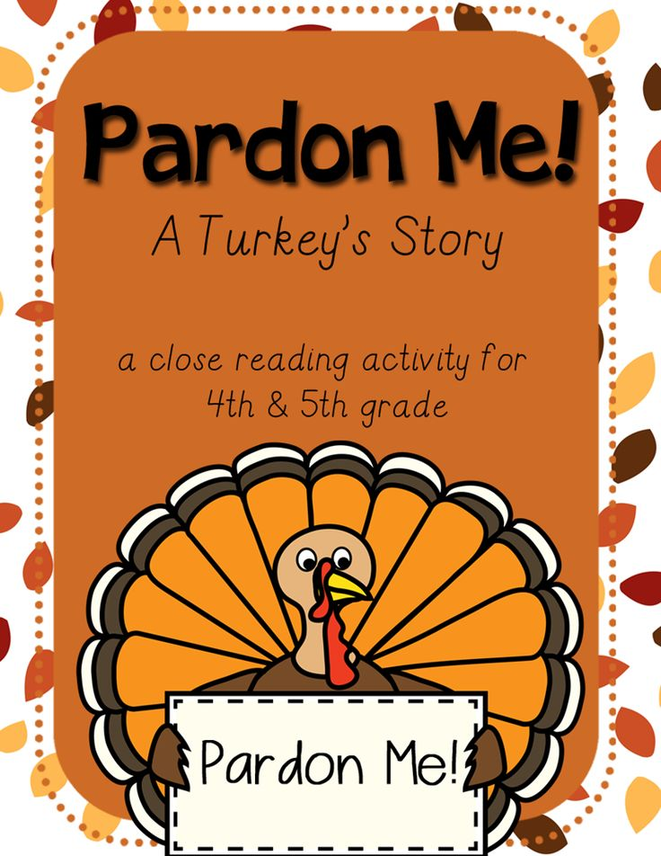 ... on Pinterest | Close Reading Activities, Thanksgiving and 5th Grades
