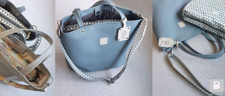 Elegancka i pojemna torba, zaprojektowana z myślą o potrzebach Mam i Maluchów.Kolory paskówBeztroskie tkaninyPo szczegółowy opis zjedź niżej :-)