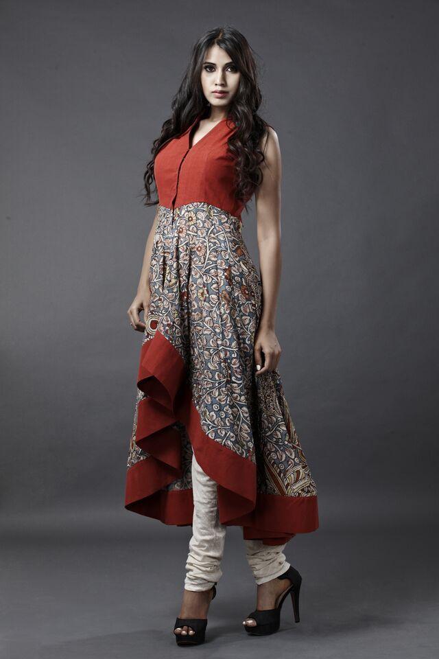 kalamkari dress by sagar tenali