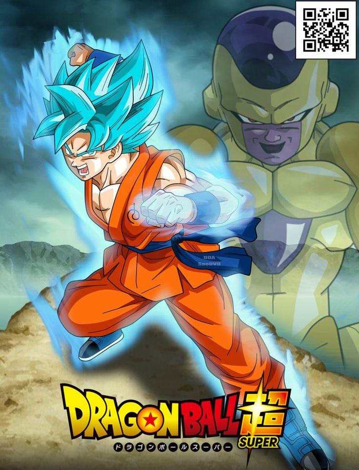Goku y Golden Freezer / Poster by SaoDVD