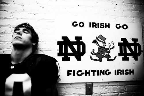 Brady Quinn #Irish #notredame