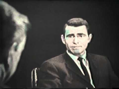 The recently deceased Mike Wallace interviews Twilight Zone creator Rod Serling about television, censorship, and science fiction as a genre. [TOR]