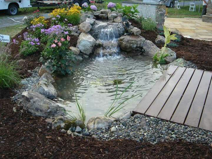 17 mejores ideas sobre estanques koi en pinterest for Estanques de agua para jardin