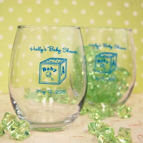 Baby Shower Favors Glasses ~ Best images about baby celebration on pinterest