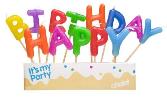 Happy Birthday, Me!