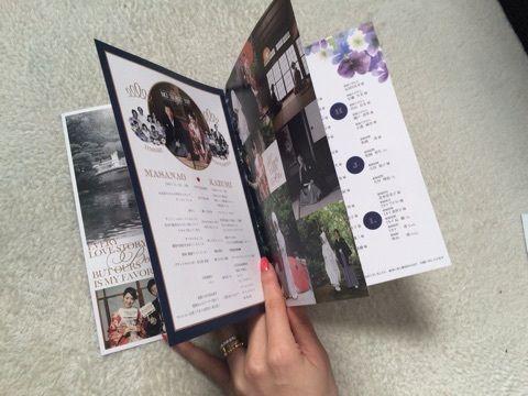 プロフィールbook&メニュー・ドリンク・席札 の画像|solaの♥happywedding♥