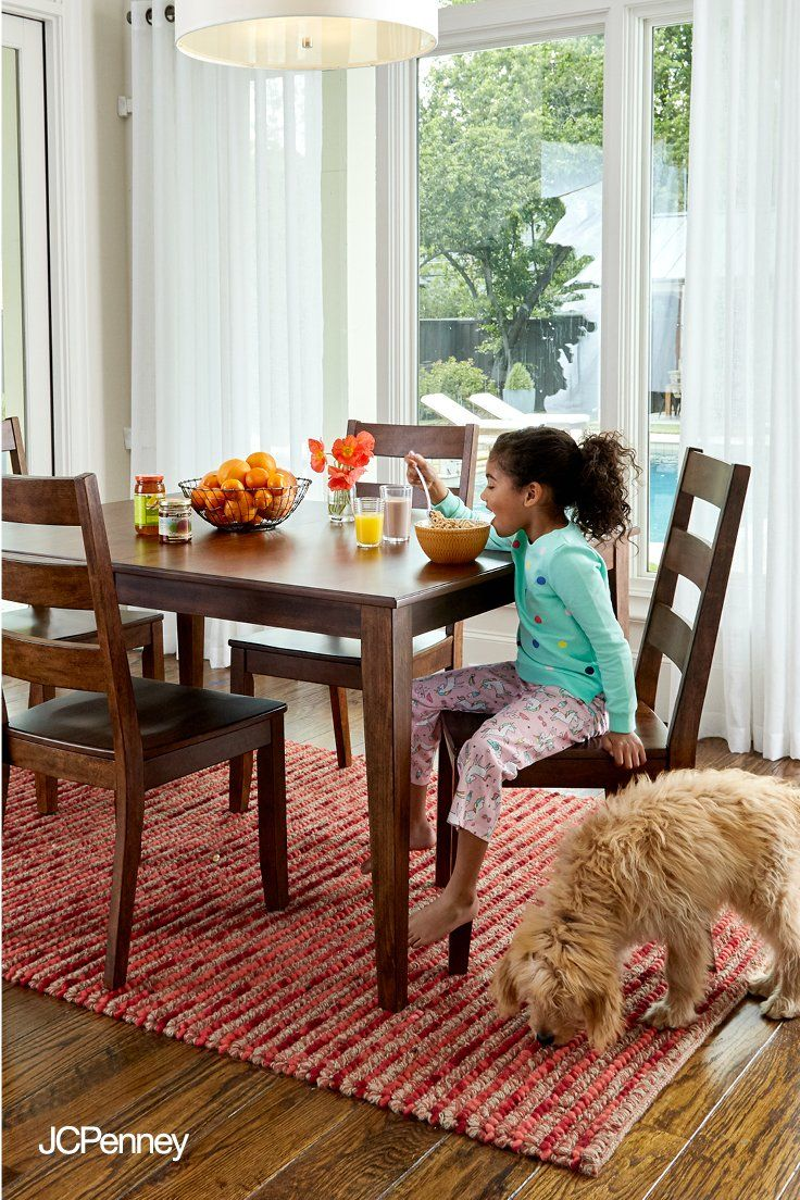 Jcpenney Furniture Kitchen Islands Make Room For Everyone At The Table With An Affordable New Dining