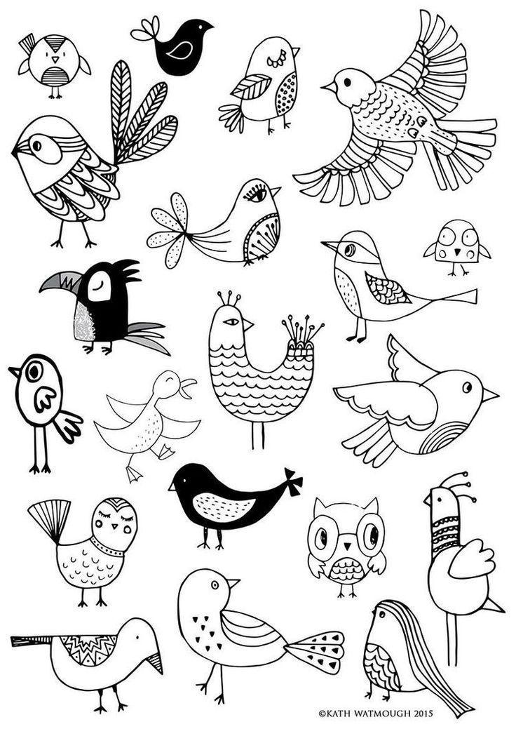 Mas Reciente Imagen Aves Dibujos De Conceptos Para Pintar En Aretes Collares De Arcilla En 2020 Libro De Colores Cuadernos De Bocetos Dibujos Garabateados
