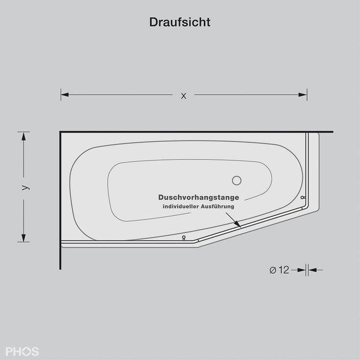 Duschvorhangstange Für Badewanne Runde Form