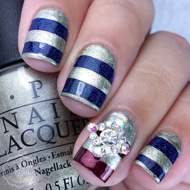 OPI Starlight and Preen.Me VIP Nail Art - Week 2