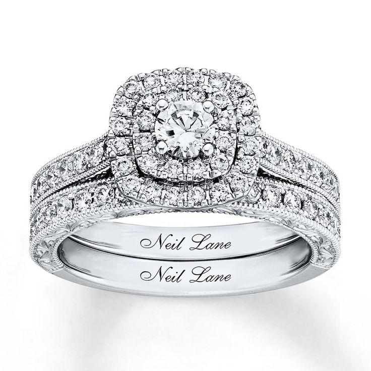 Neil Lane Bridal Set 1 ct tw Diamonds 14K White GoldKay