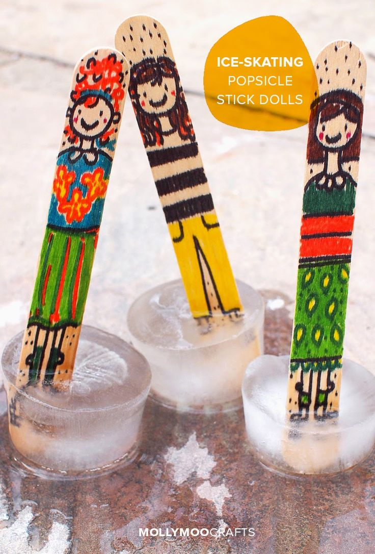 150 best images about popsicle stick crafts on pinterest for Ice stick craft ideas