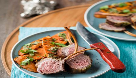 Spring rack of lamb with sweet potato salad #picknpay #ultimatebraaimaster