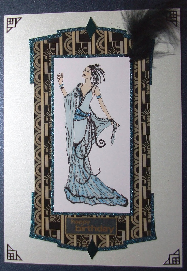 81 best Art Deco images on Pinterest | Cards, Art deco cards and ...