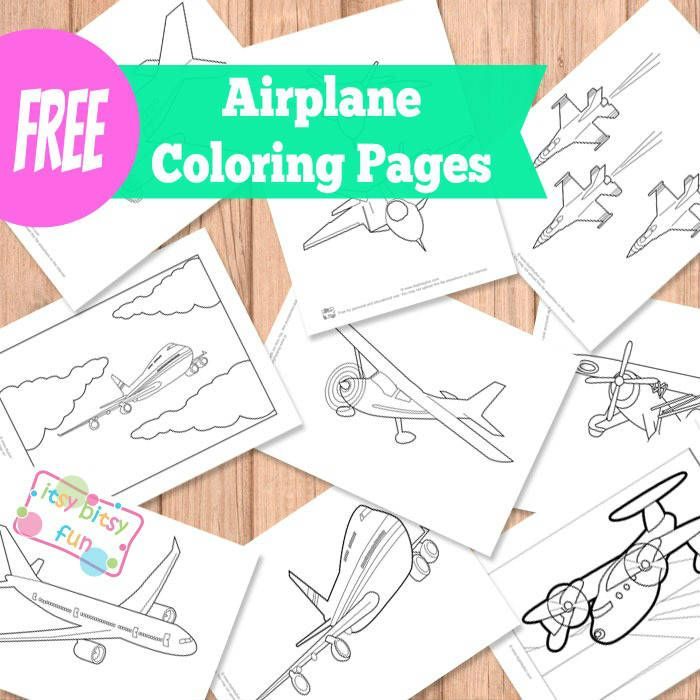 121 best Kids - Coloring Pages images on Pinterest Birthdays - fresh airplane coloring pages to print