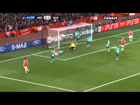 Arsenal FC 2-1 FC Barcelona -Only way to beat Barcelona..