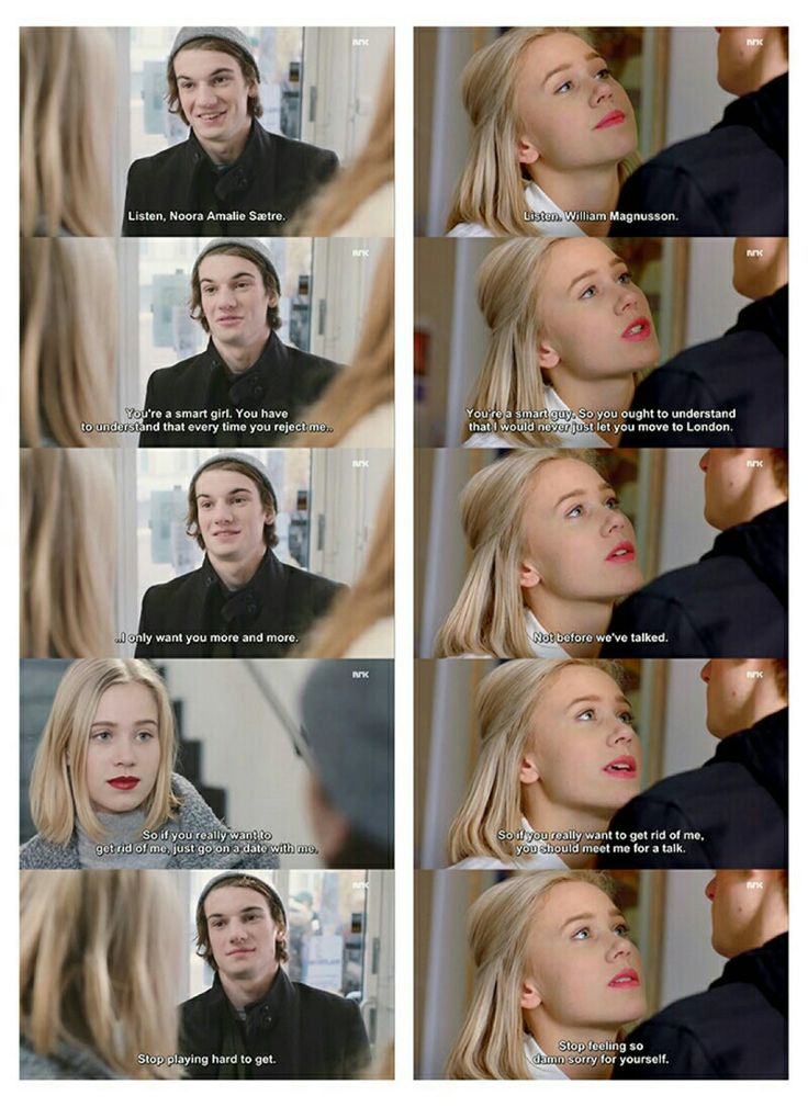 William & Noora. Skam