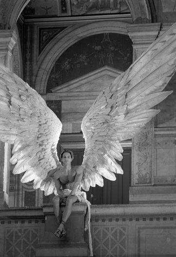 Eros is de griekse god van de liefde en de sexuele begeerte