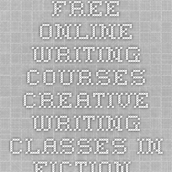 creative writing free online