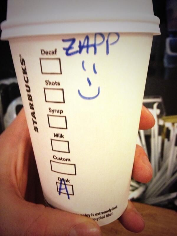 Maybe it's my accent coffee guy didn't understand or New York is just buzzing...???? Sam Heughan twitter