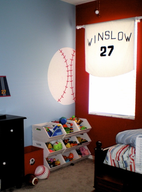 Baseball Curtain