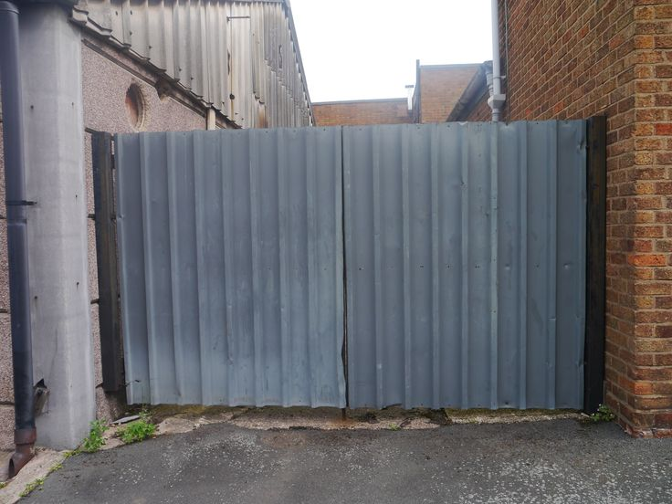 metal gates to keep water out - Google Search