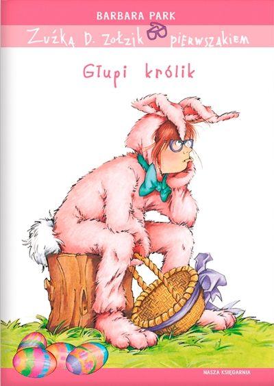 Zuźka musi przebrać się w kostium różowego królika podczas  zabawy w poszukiwanie wielkanocnych jajek. Jednak w takim kostiumie osiągnięcie sukcesu jest bardzo problematyczne. Po drodze okazuje się również, że dzieci często się ze sobą kłócą, bywają nielojalne, a niektóre nie radzą sobie z zabawą i emocjami. Oczywiście humor jest podstawą tej opowieści, ale – jak to u Pani Park bywa - dzieci przy okazji otrzymują dobrze zakamuflowaną porcję wychowania.