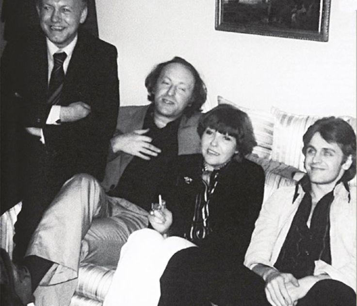 Бродский, Белла Ахмадулина, Михаил Барышников. Нью - Йорк, 1976 г