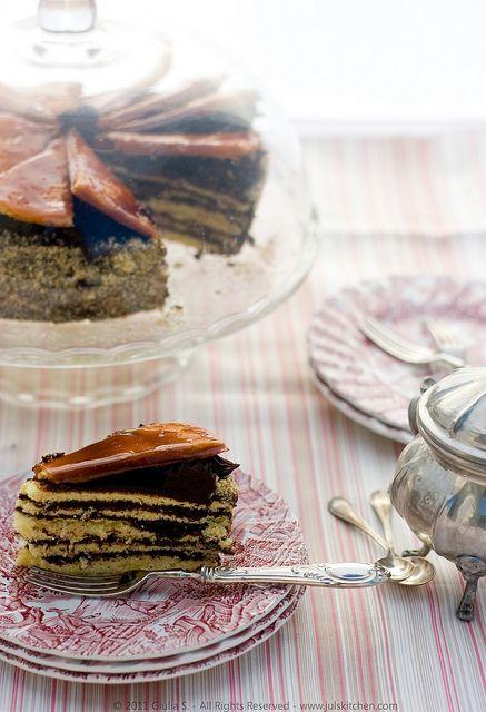 Dobos Torte, the 127-year-old Hungarian dessert - Juls' Kitchen | Juls' Kitchen