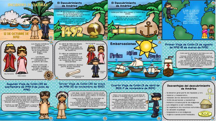 Encuentro de culturas los viajes de Cristóbal Colón - https://materialeducativo.org/encuentro-de-culturas-los-viajes-de-cristobal-colon/