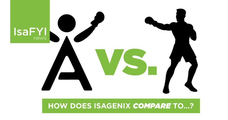 Have you ever been asked to compare Isagenix vs another health and wellness product or another network marketing company?