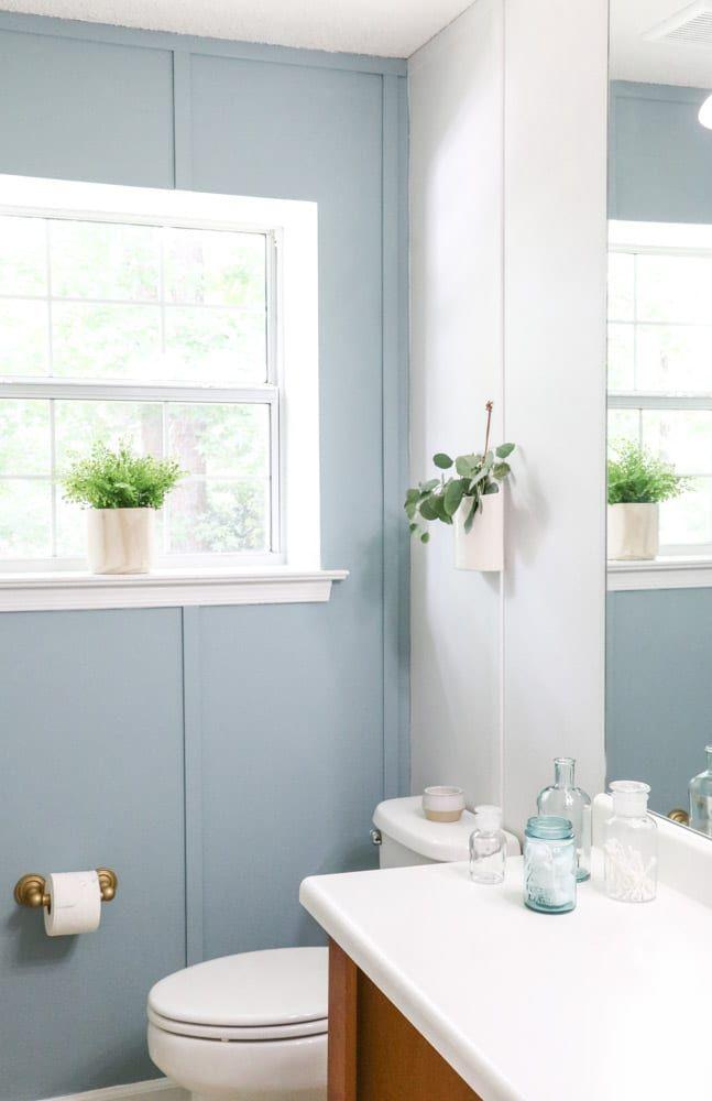 Best Way To Paint Over Wallpaper In 2020 Painting Over Wallpaper Eclectic Bathroom Decor Vintage Bathroom Decor