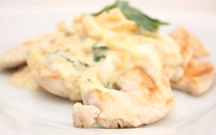 Dieta Dukana :: Kurczak w sosie jajecznym :: Przepisy Zasady Efekty