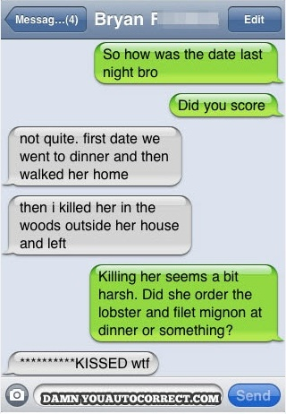 Simple but hillarious auto correct!