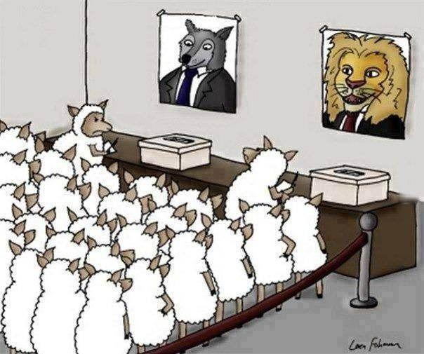 It's still Democracy...