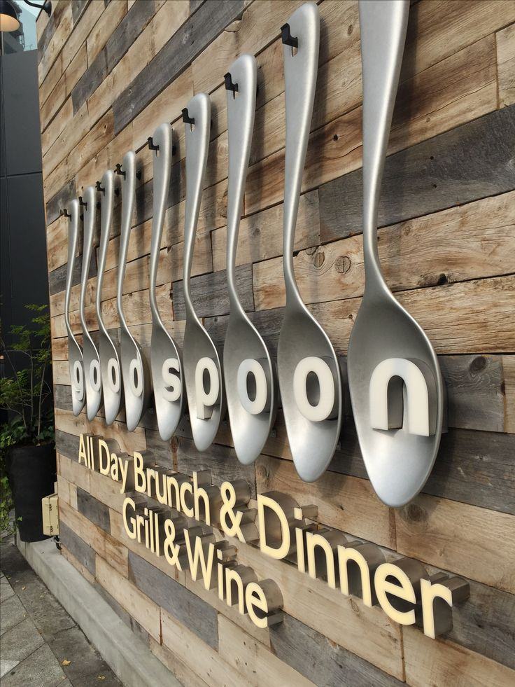F&B Sign | Design Inspiration | Pinterest | Signage, Restaurants ...