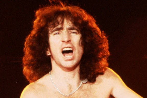 Bon Scott - lead singer of ACDC