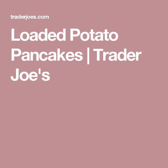 Loaded Potato Pancakes   Trader Joe's