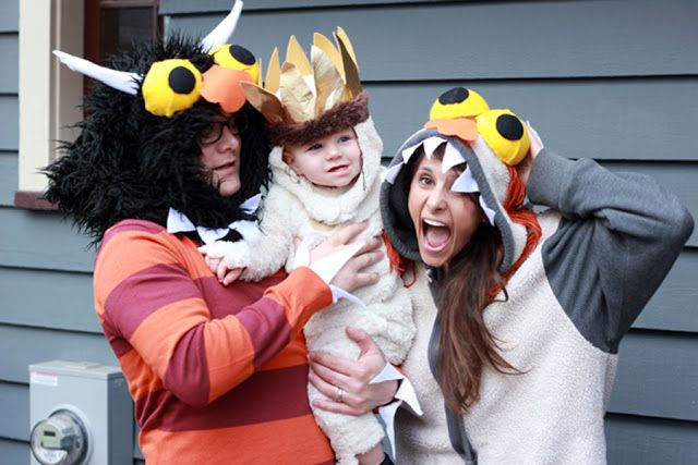 Where The Wild Things Are...cutest family costume ever!