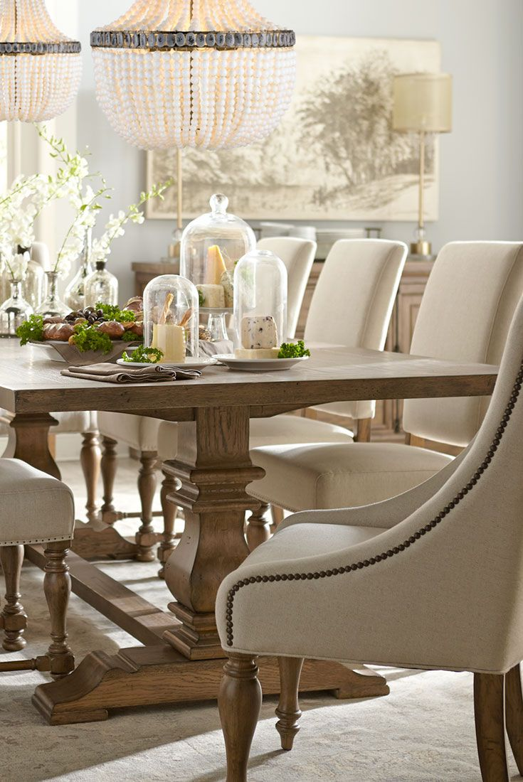 Rustic Meets Elegant In Our Avondale Dining Collection