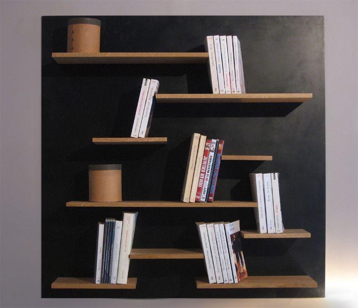 Les 25 meilleures id es de la cat gorie biblioth que murale sur pinterest - Ikea bibliotheque murale ...